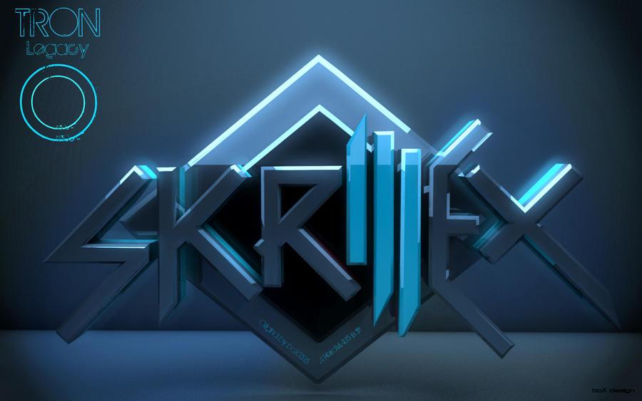 Skrillex Wallpaper HeroMAU5 Tron Legacy EDIT By