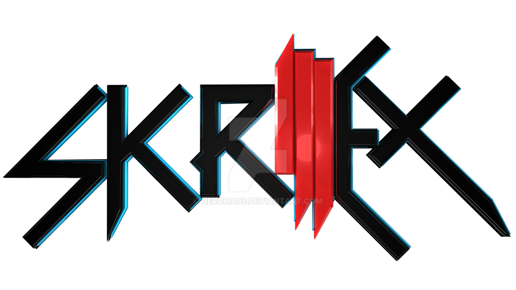 Skrillex 3D Logo -Part 1 of New Project- by HeroMAU5