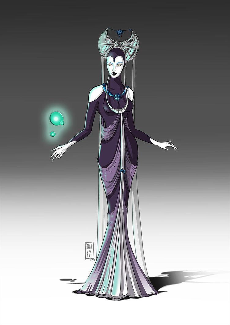 Empress of the Moon by PHATboyArt