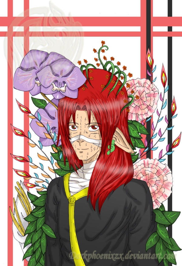 CR: Carnations, Orchid and Lily by DarkphoenixZX on DeviantArt