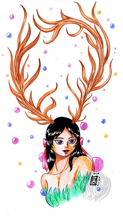 Lady Deer by DarkphoenixZX