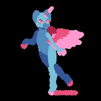 Anthro pony base (ftu)
