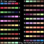 Free Pallete - 20 colors #4
