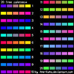 Free Pallete - 20 colors #5