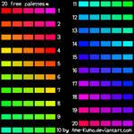 Free Pallete - 20 colors #6