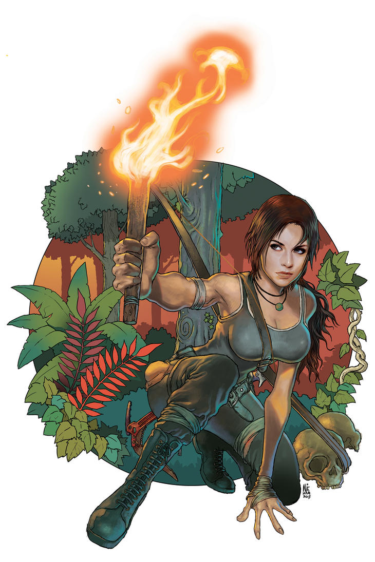 Tomb Raider by niezamcomic