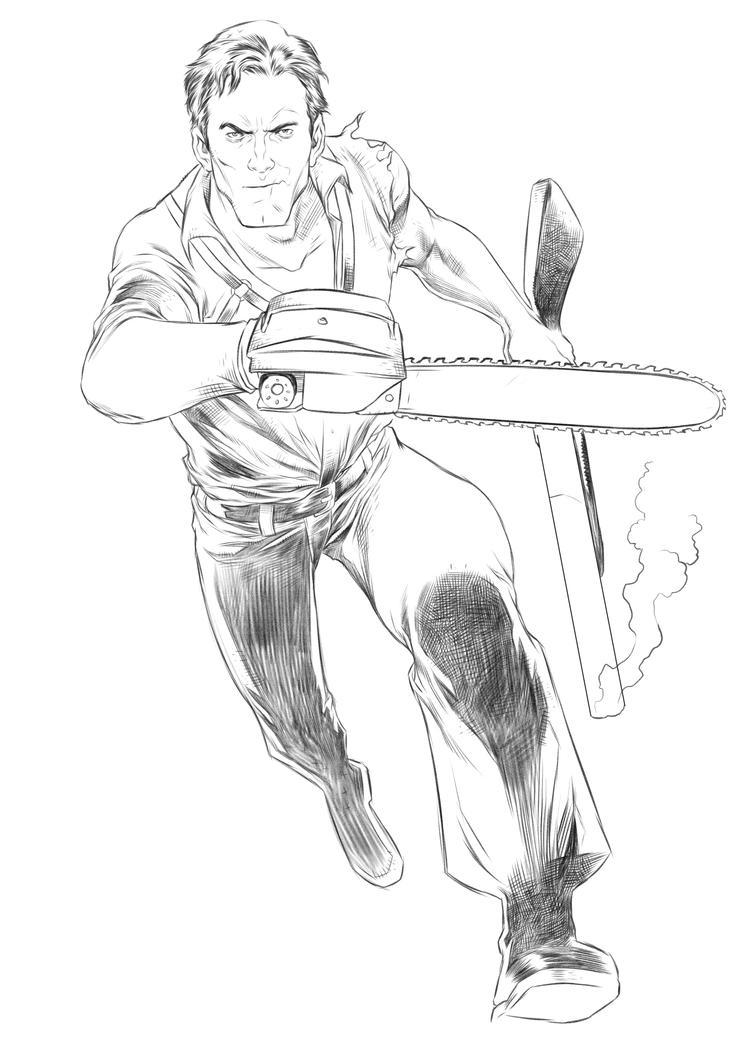 Ash by niezamcomic