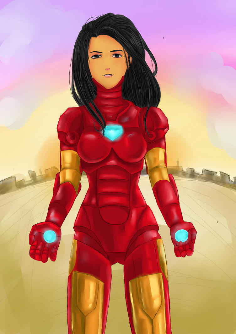 Iron Girl by EevaUchiha7 on DeviantArt