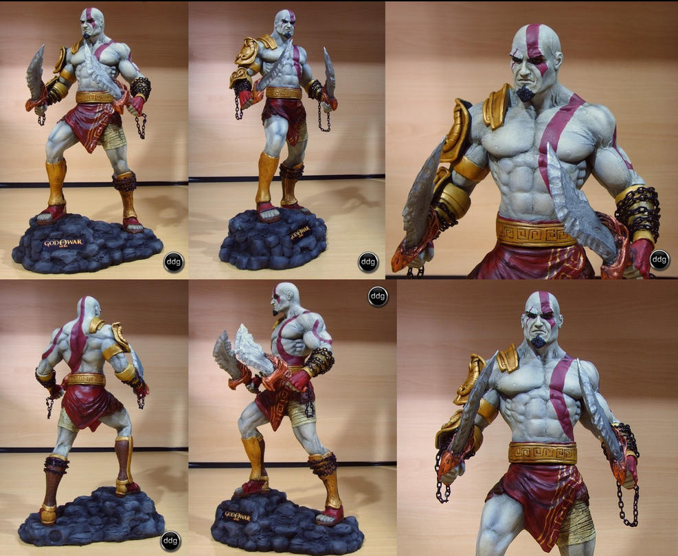 Dario Gonzalez Esculturas Kratos___God_Of_War___Final_by_ddgcom
