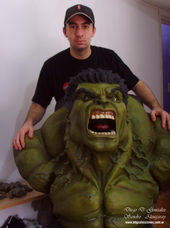 Hulk Bust life size 05 by ddgcom
