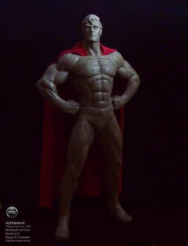 Superman 20 inch WIP