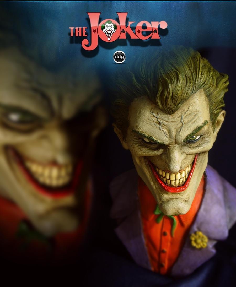 joker bust final by ddgcom