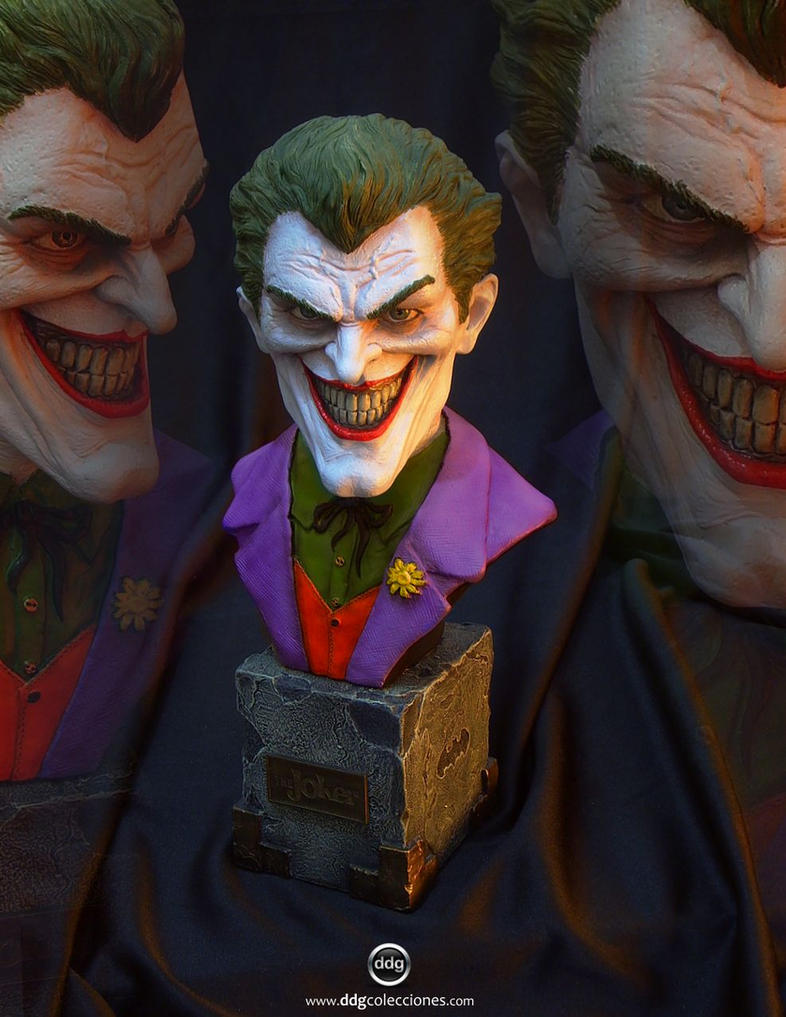 Joker MiniBust - 05 by ddgcom