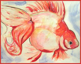 Goldfish (or Fish 1.2) by serekan