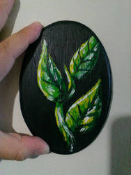 Green leaves by serekan
