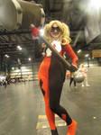 Harley Quinn cosplay by Lauren Kerr