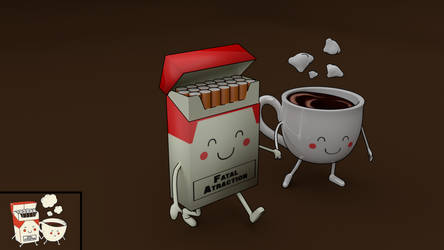Cigaretes and Coffe by Mikalus