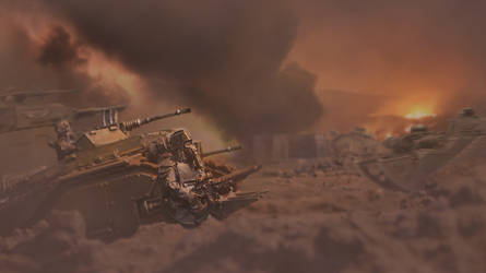 Advance on Fort A-453