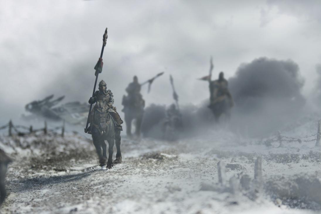 Warhammer 40K (figurines diverses trouvées sur internet! ) - Page 6 Death_rider_patrol_by_arkurion-d4g6760