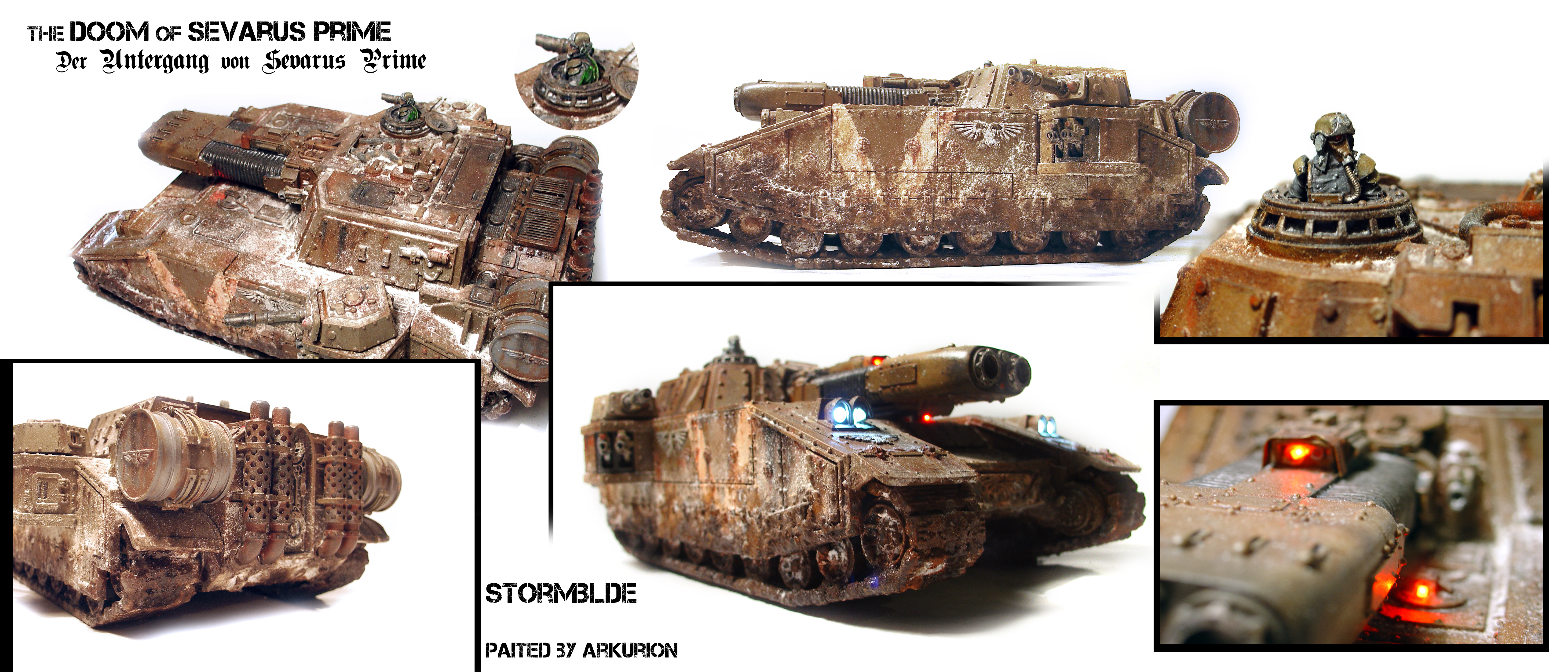 Stormblade 5th. Heavy Tank Company by ARKURION