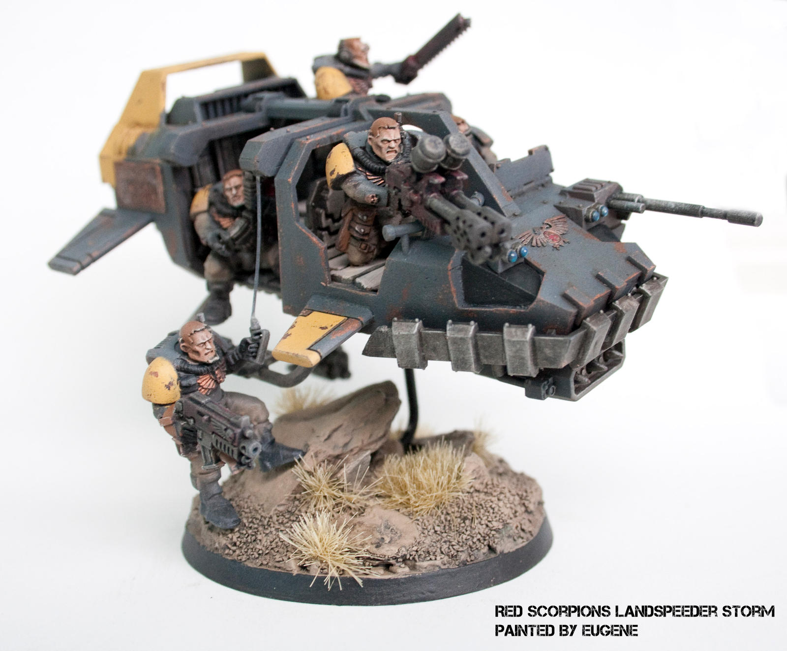 Red Scorpions Land Speeder Storm By Arkurion On Deviantart