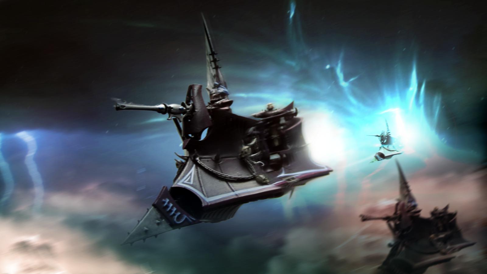 Dark Eldar Raider by ARKURION