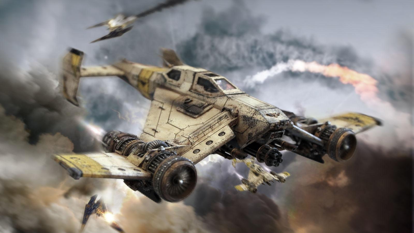 Imperial Domination - Avenger Strike Fighter