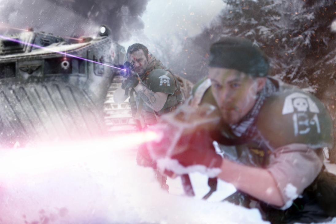 Armoured Fist by ARKURION