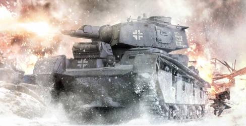 Kampf um Norwegen! PzKpfw Nb.Fz. In Action.