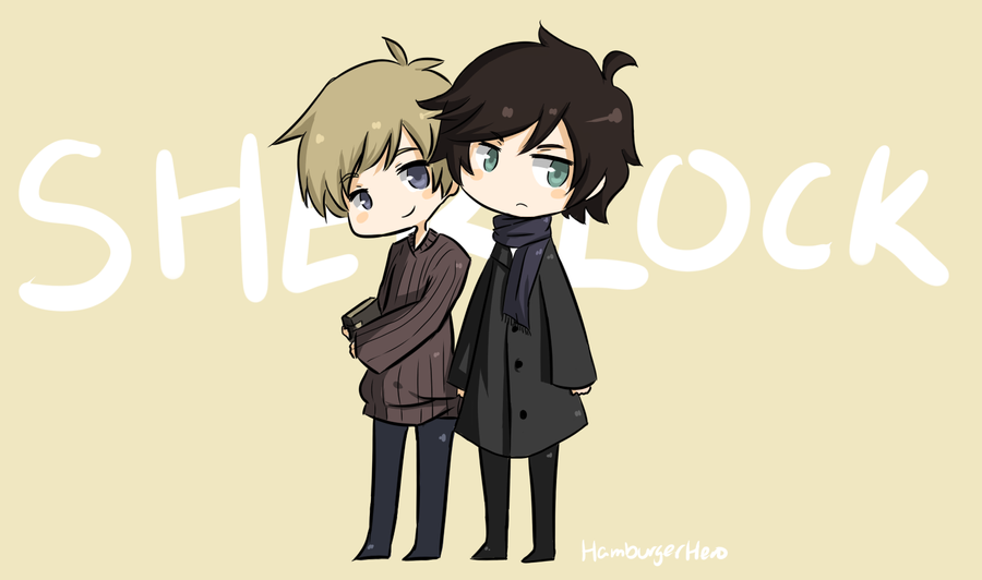 Sherlock and John by HamburgerHero
