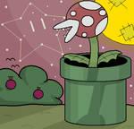 Pirahna Plant Dusk
