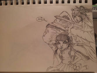 Group Photo League of Legends (Quick Sketch) by The-Benjamin-Chu