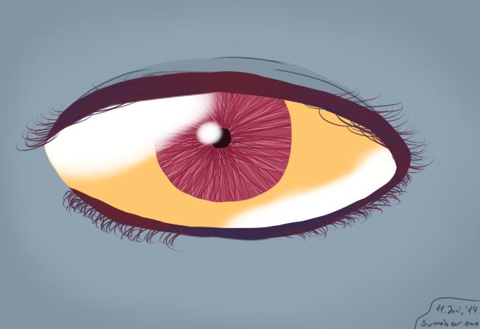 Olool's eye. by Sunnabear