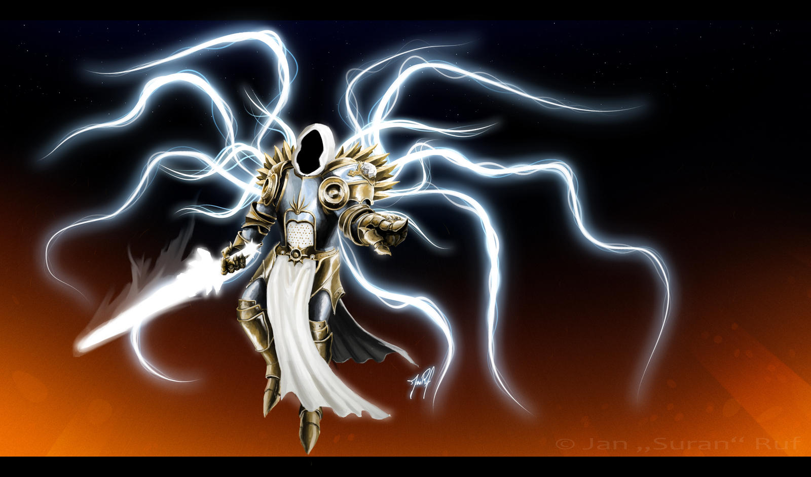 Archangel Tyrael By Suran329 On DeviantArt