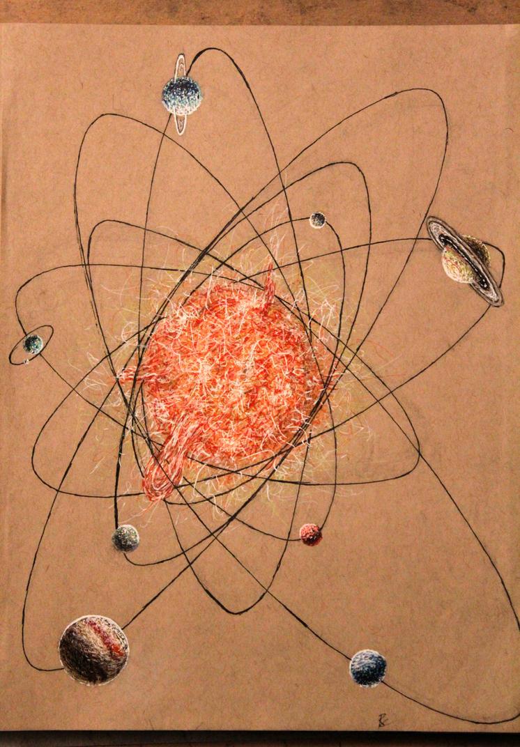 Stylized Solar System by MelodicChronic