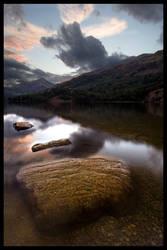 Llyn Gwynant by allanibanez