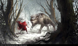 Icy Forest Encounter