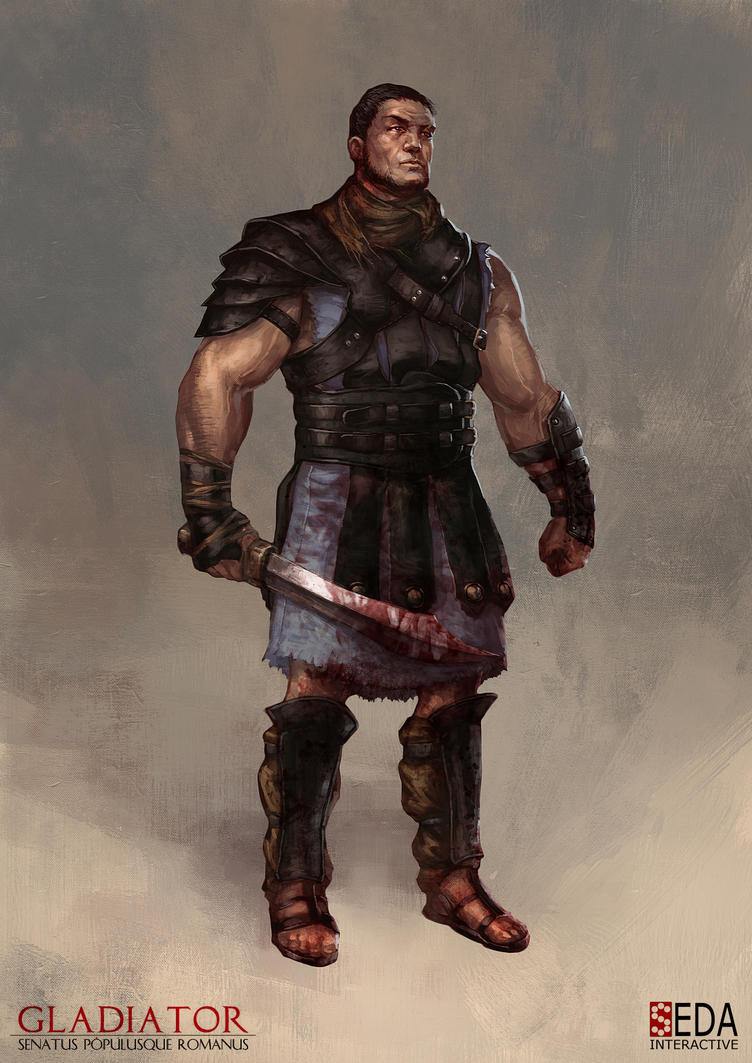 Gladiator: SPQR player character concept by jbcasacop