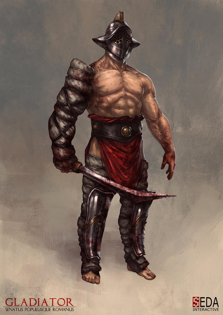 Gladiator: SPQR AI character concept by jbcasacop