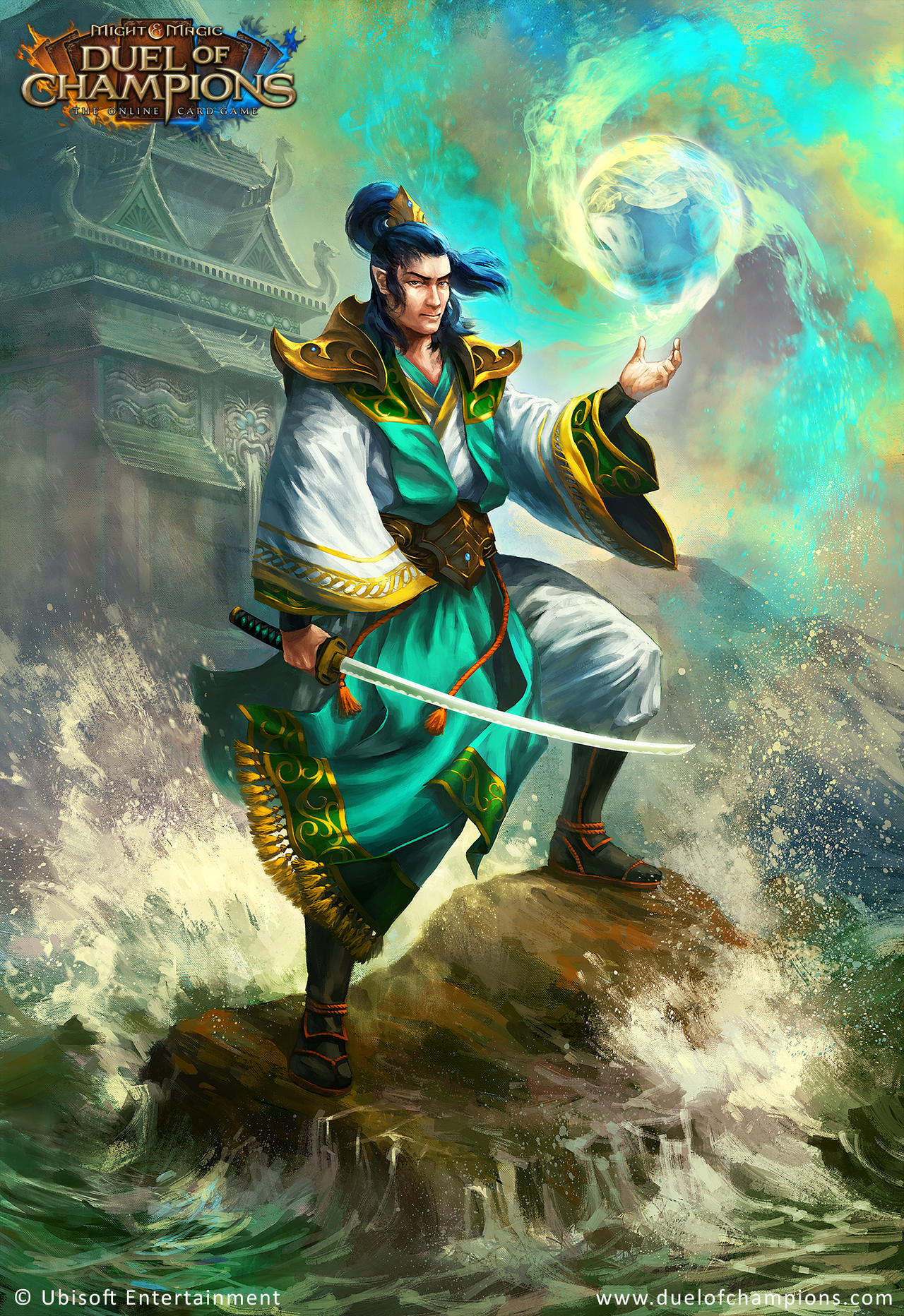 Duel of Champions - Shalan, Voice of the Lotus by jbcasacop