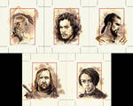 Personal Sketch Cards featuring Game of Thrones