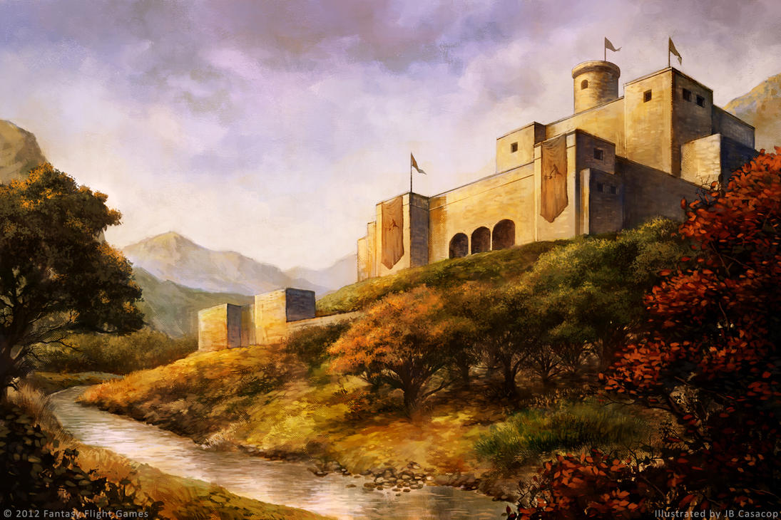 Game of Thrones - Castle Darry by jbcasacop