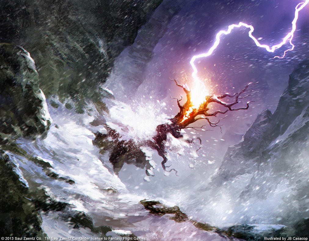 Lord of the Rings LCG - Lightning Splinters by jbcasacop