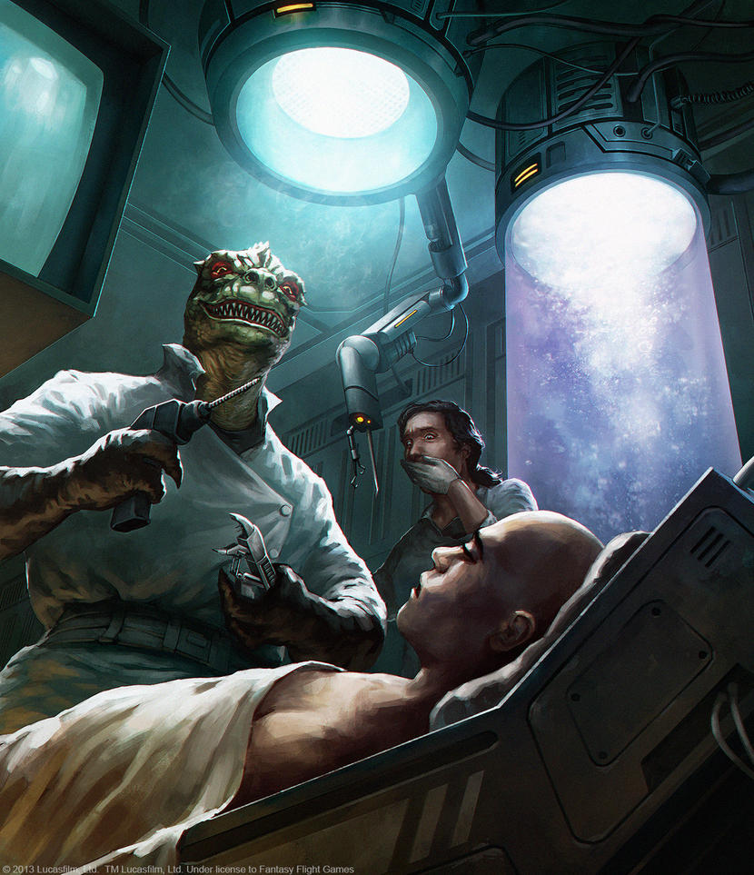 Star Wars RPG - Doctor Velociraptor by jbcasacop
