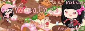 Ameba Pigg [[ KatkatEntry#2 ]] Valentine's Day
