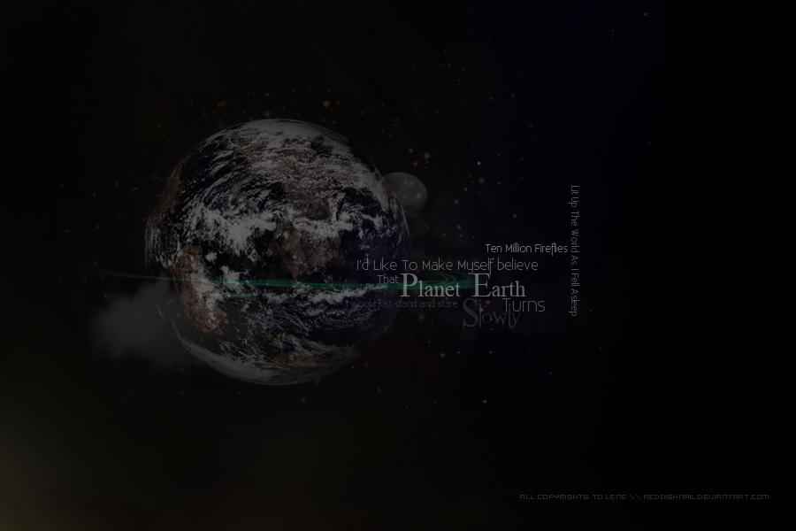 Planet Earth by ReddishNailLen
