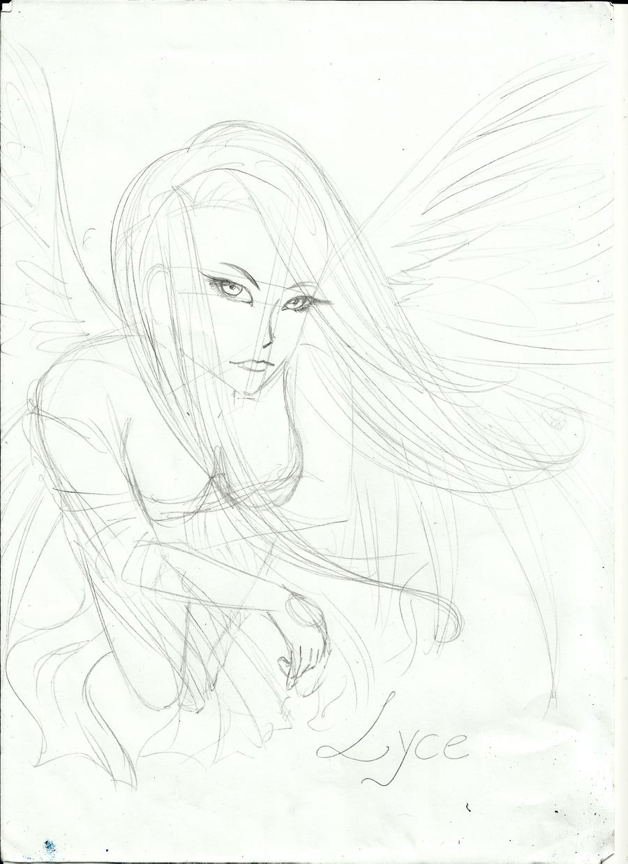 Galeria de desenhos[Natsu] Angel_by_nianatsu-d4d4tnq