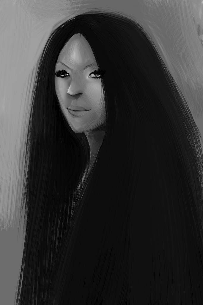 Ilustraciones:. - Página 4 Hair_by_pammella-d6go5q5