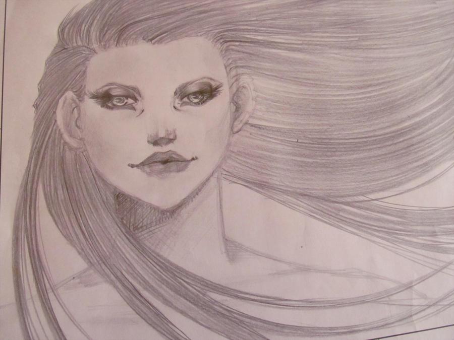 Ilustraciones:. - Página 4 Portrait_by_pammella-d6h7ont