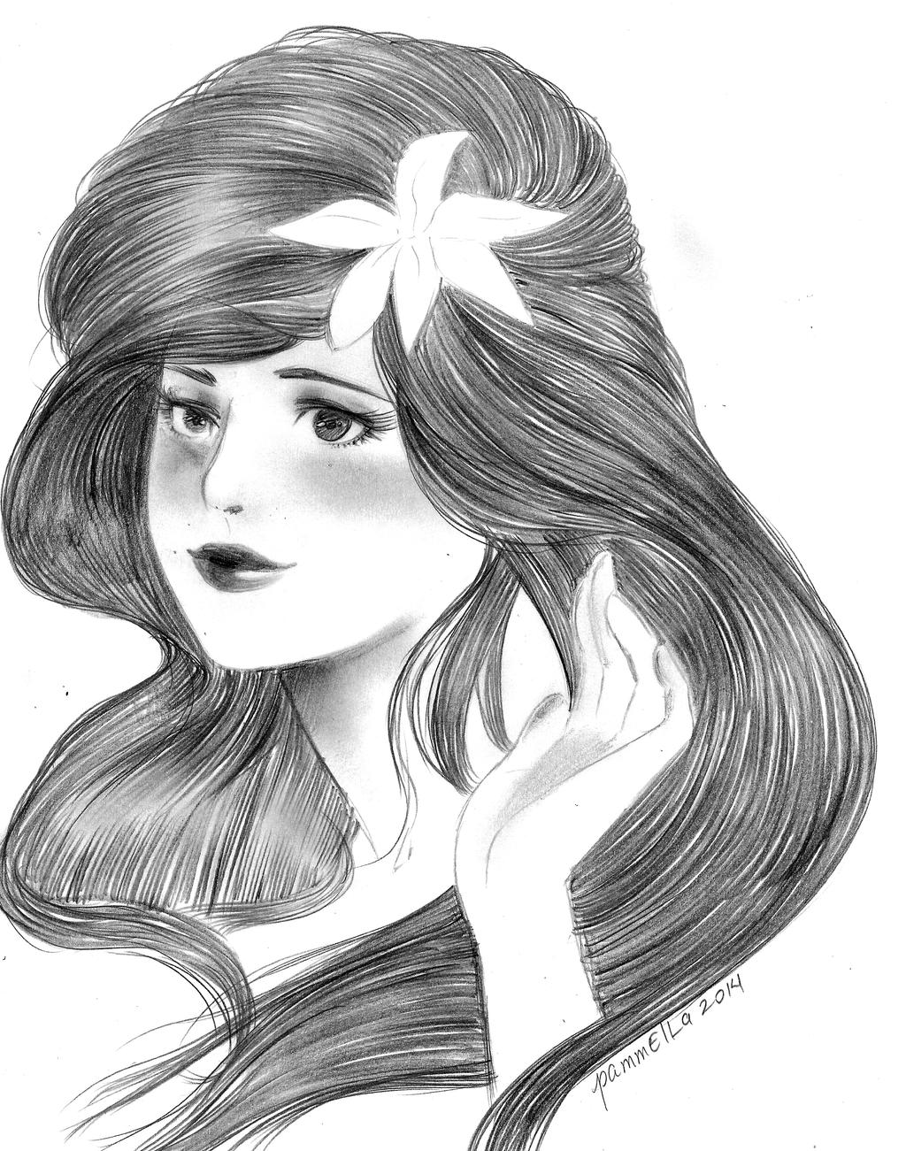 portrait by Pammella